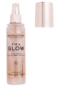 Make up Revolution - FIX & GLOW FIXING SPRAY - Fixierspray und Fixierpuder - - - 1