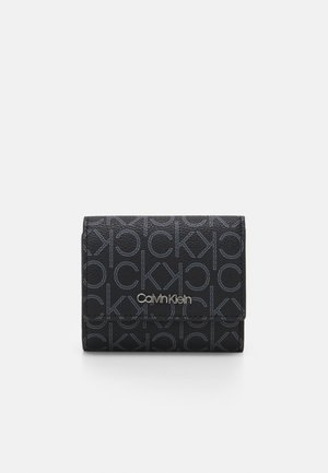 TRIFOLD XS MONOGRAM - Wallet - black