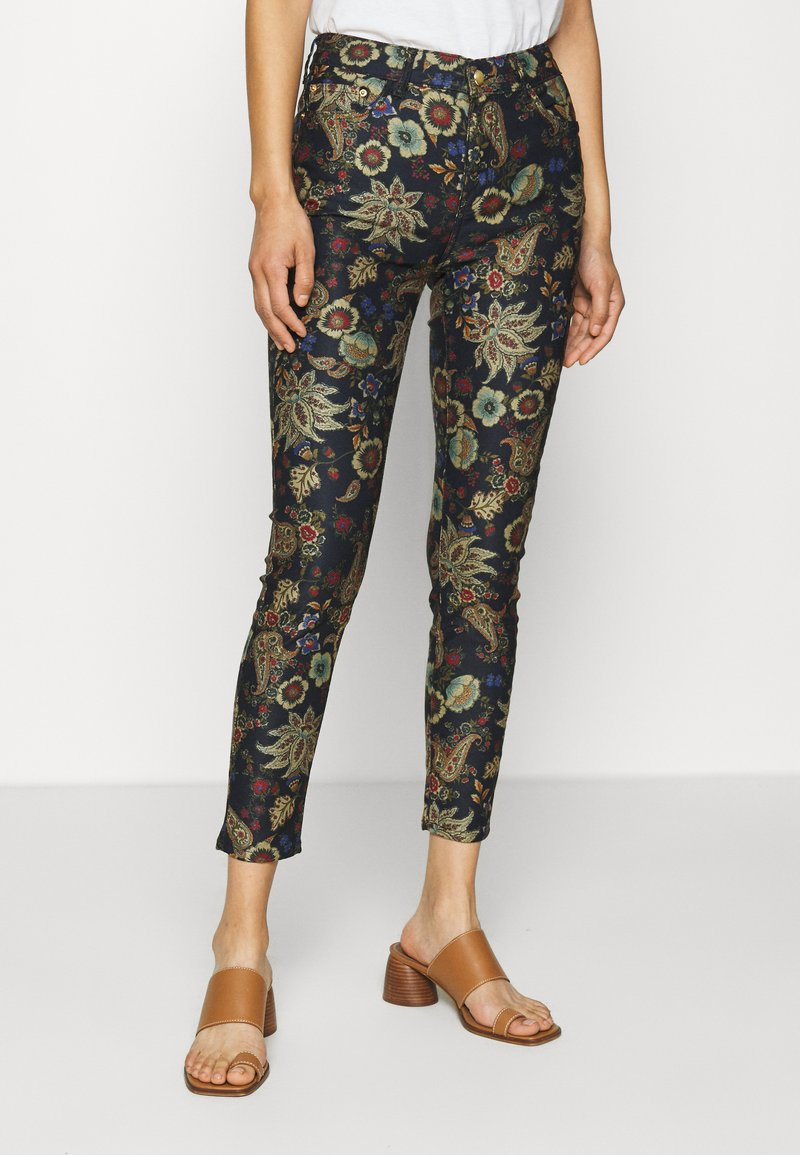 Desigual - PANT CANDELA - Trousers - navy