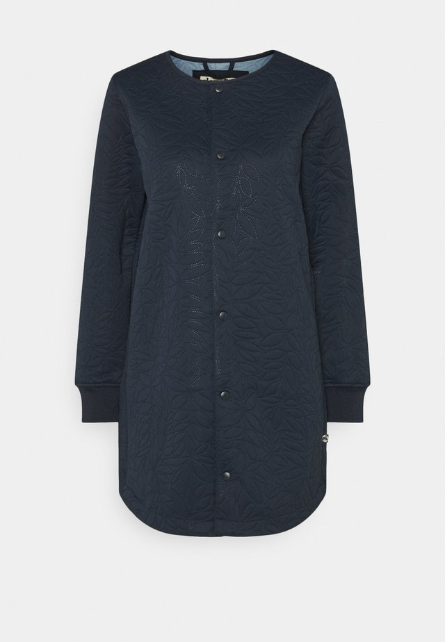 MAUDE THERMO COAT - Classic coat - deep navy
