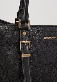 MICHAEL Michael Kors - BEDFORD LEGACY GRAB TOTE - Torebka - black - 6