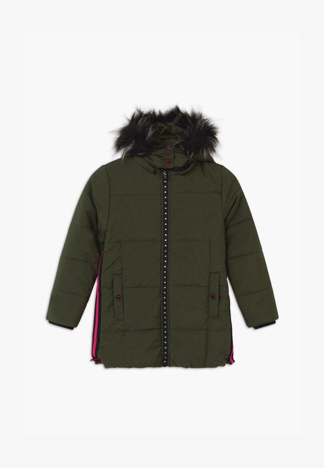 SMALL GIRLS - Zimní kabát - kaki