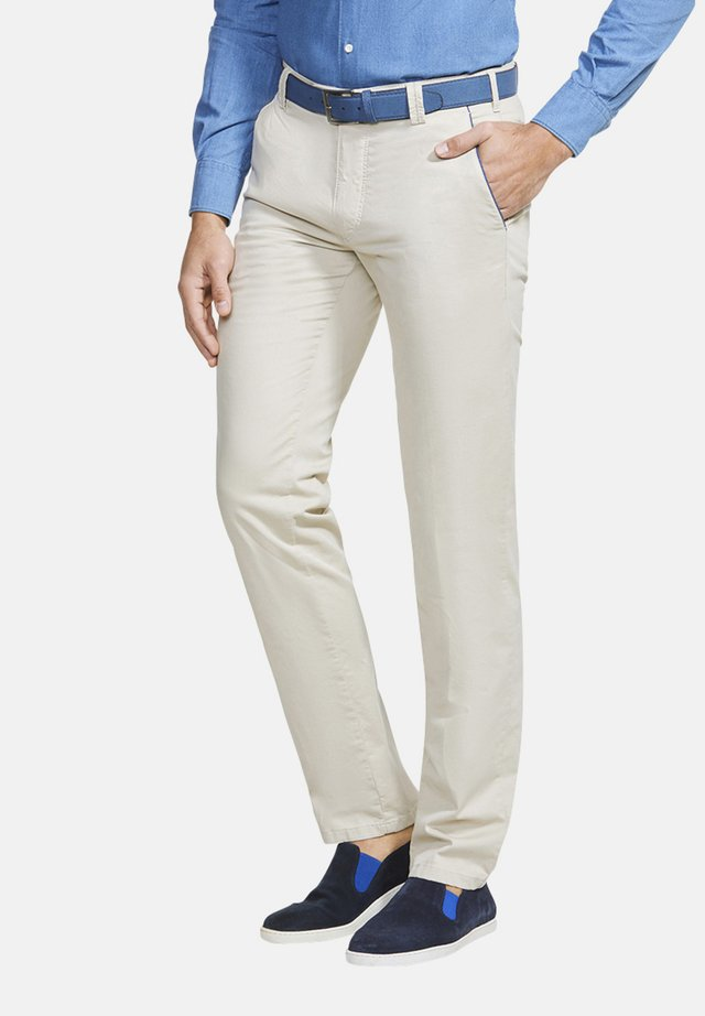 NEW YORK - Trousers - beige