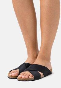 NAE Vegan Shoes - BALI VEGAN - Mules - black - 0