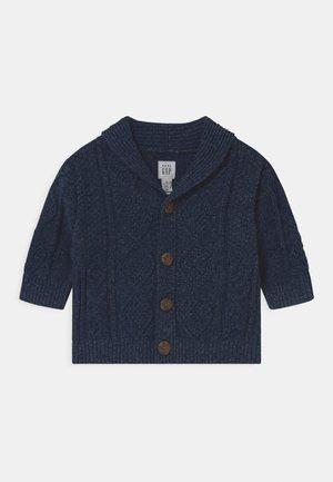 ARAN CABLE UNISEX - Vest - blue indigo