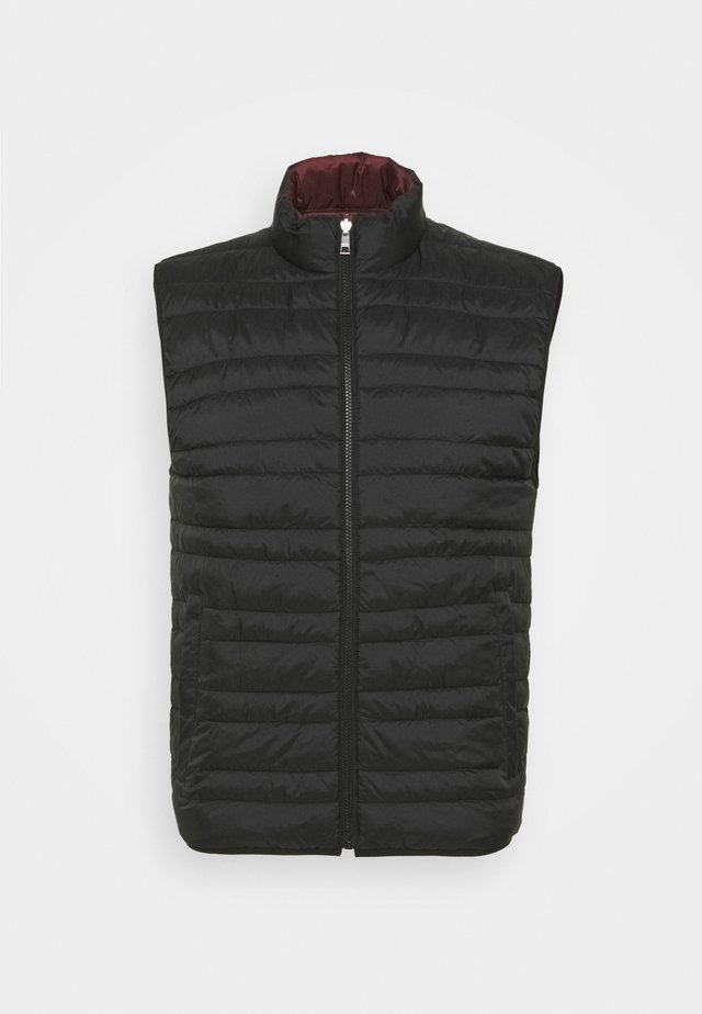 FILLED VEST - Vest - black