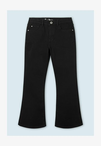 KIMBERLY FLARE - Relaxed fit jeans - black