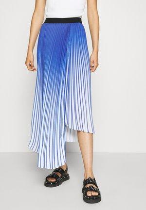 PIZA - A-line skirt - amparo blue