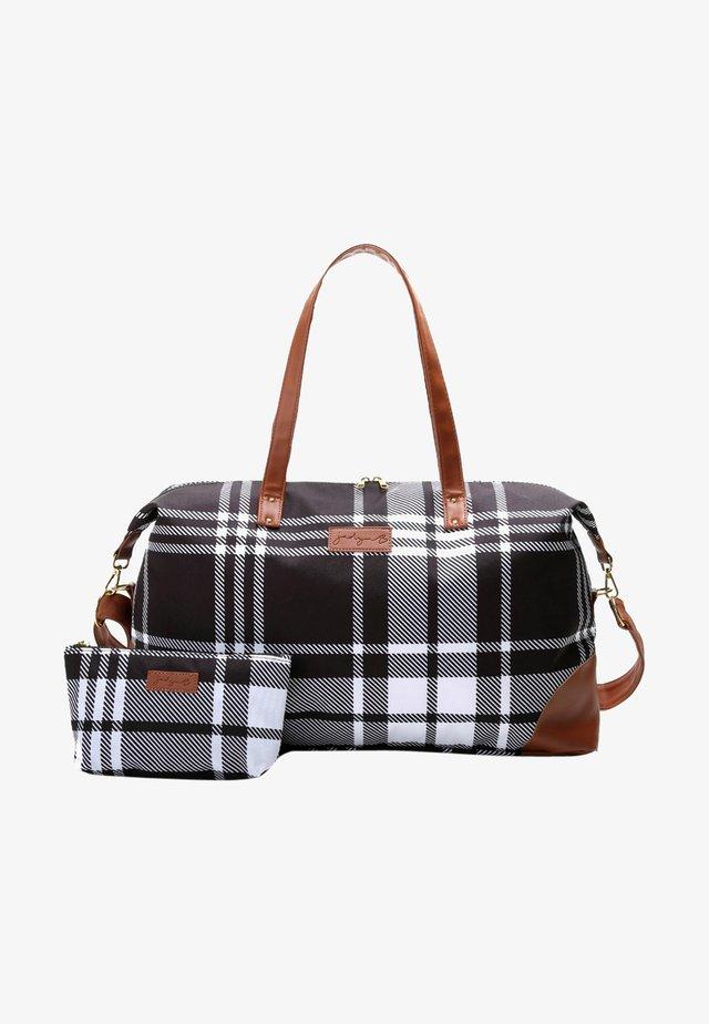 LUNA DUFFEL - Weekendbag - plaid