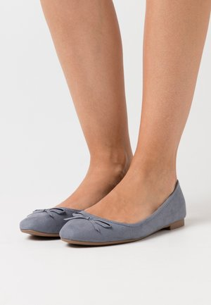 WIDE FIT LAIREY - Ballet pumps - light blue