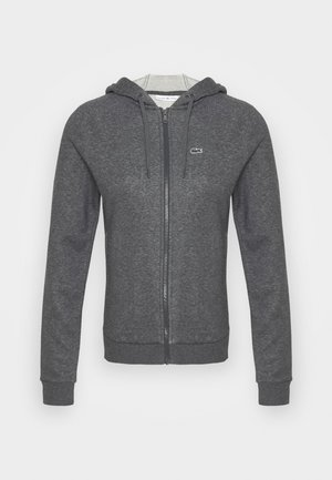 Zip-up hoodie - pitch chine