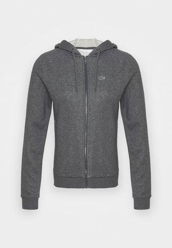 JACKET - Zip-up sweatshirt - pitch chine