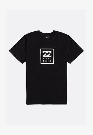 UNITY STACKED  - T-shirt con stampa - black