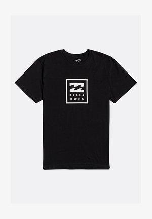 UNITY STACKED  - Print T-shirt - black