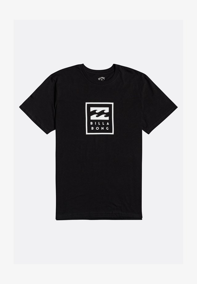UNITY STACKED  - Print T-shirt - black