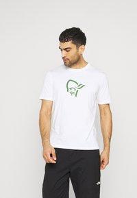 Norrøna - T-shirt imprimé - pure white - 0