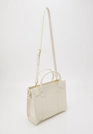 CECILY STRUCTURED TOTE - Kabelka - ivory