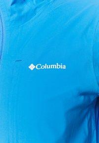 Columbia - OMNI-TECH™ AMPLI-DRY™ SHELL - Hardshell jacket - harbor blue - 5