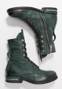 A.S.98 - Lace-up ankle boots - balsamic - 3