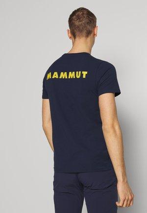 LOGO MEN - T-shirt med print - marine