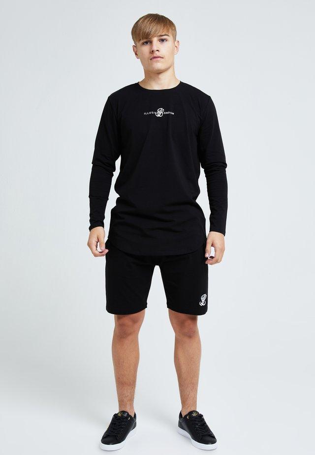 ILLUSIVE LONDON DUAL - T-shirt imprimé - black
