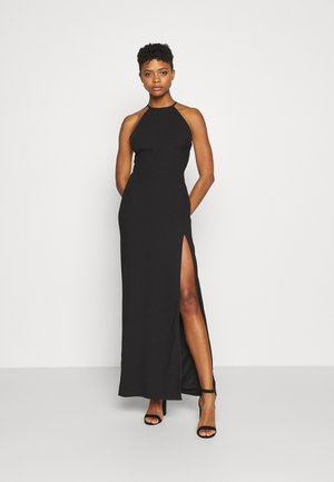 CROSS BACK STRAP GOWN - Vestido de fiesta - black