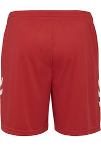 Hummel - DUO SET - Sports shorts - white/true red - 4