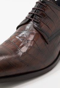 Brett & Sons - Smart lace-ups - cognac - 5