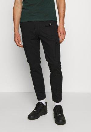 P-BRANDEN TROUSERS - Cargo trousers - black