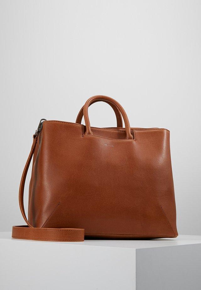 KINTLA - Handbag - cognac