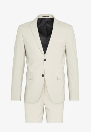 PLAIN MENS SUIT - Oblek - sand