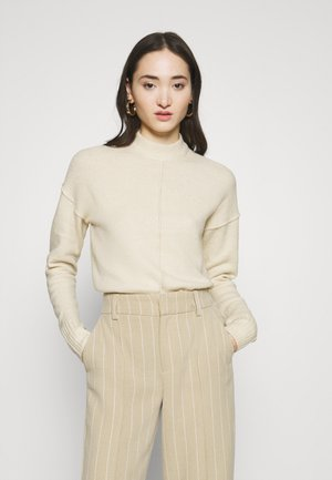 VMNEWLUCI HIGHNECK BLOUSE - Jumper - birch