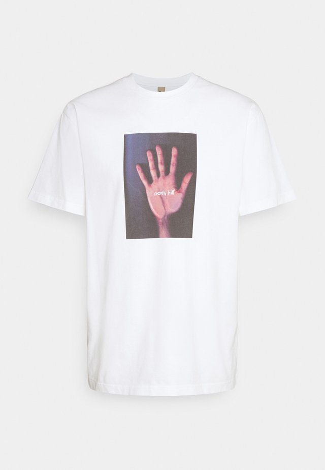 HAND - T-shirt print - white