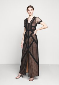 BCBGMAXAZRIA - EVE LONG DRESS - Vestido de fiesta - black - 0