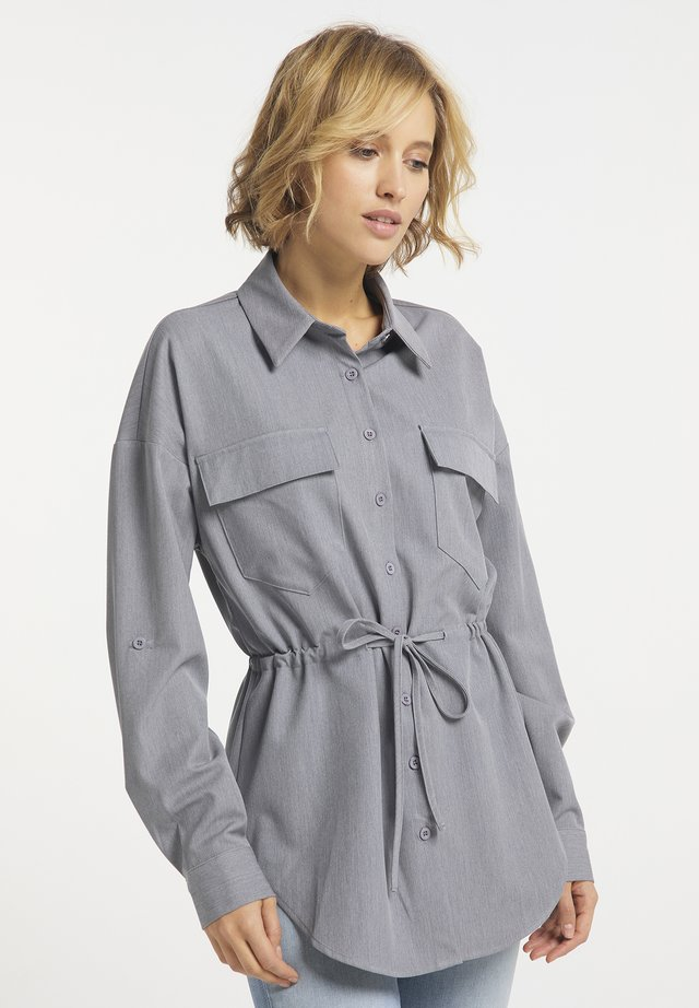 Overhemdblouse - grau