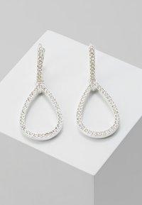 Pilgrim - EARRINGS DELIA - Earrings - silver-coloured - 0