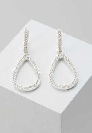 EARRINGS DELIA - Oorbellen - silver-coloured
