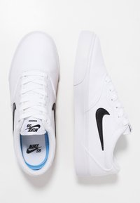 Nike SB - CHARGE SLR - Trainers - white - 1