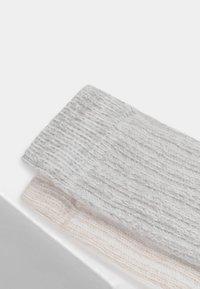 OYSHO - 2 PACK - Socks - light grey - 6