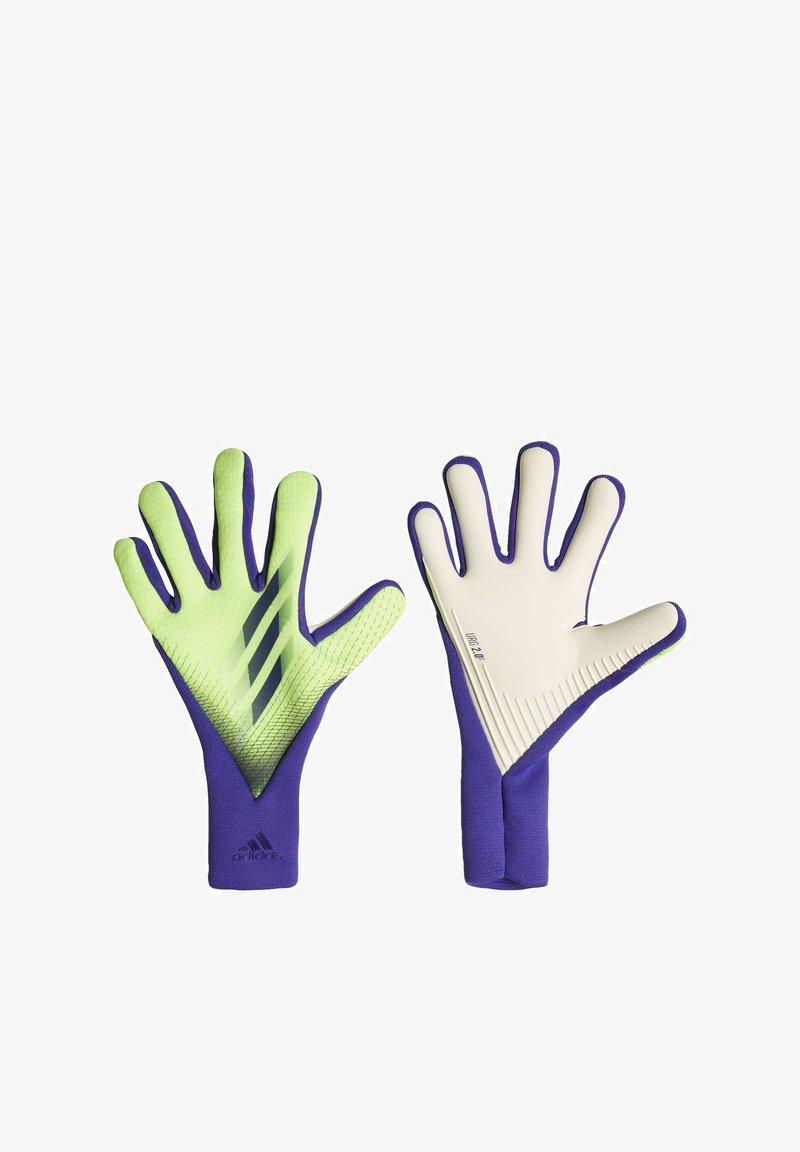 adidas Performance - X PRO GOALKEEPER GLOVES - Goalkeeping gloves - green