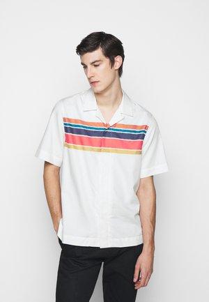 GENTS TAILORED FIT - Shirt - white/dark blue