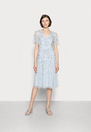 BEADED MIDI DRESS - Cocktail dress / Party dress - glacier