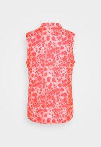 Puma Golf - CLOUDSPUN WILDER  - Polo shirt - georgia peach/cloud/pink - 1