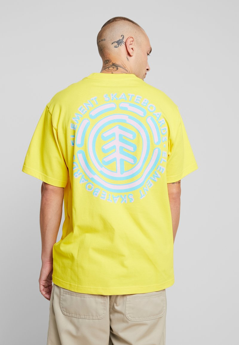 Element - CHROME - Printtipaita - bright yellow