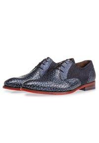 Floris van Bommel - Smart lace-ups - blue - 2