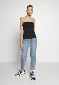 Calvin Klein Jeans - INSTITUTIONAL LOGO TUBE - Top - black - 1