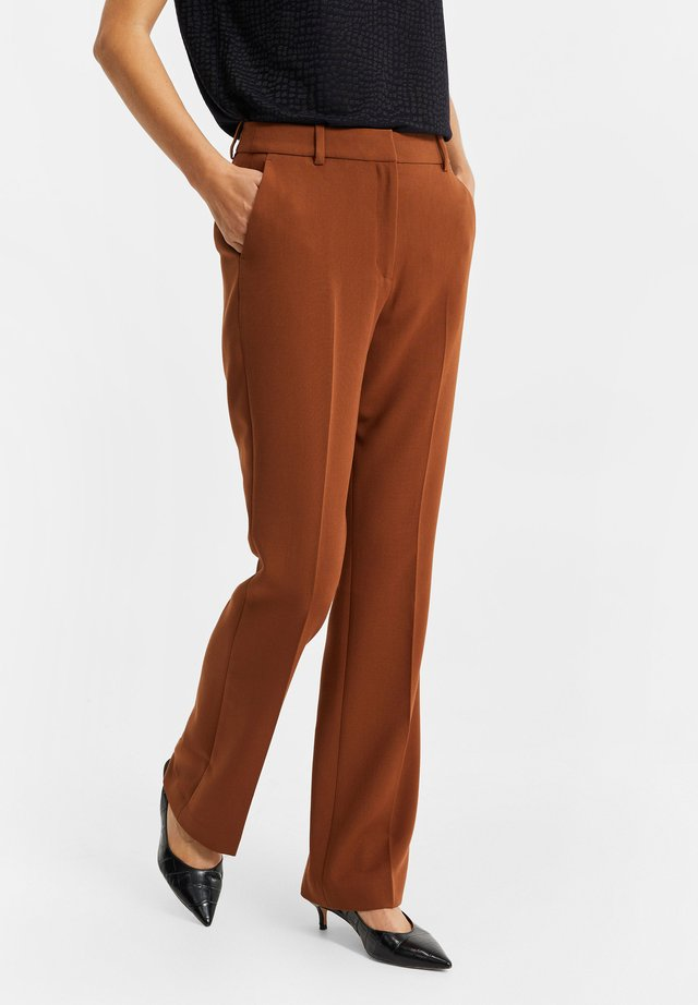 Pantaloni - cognac