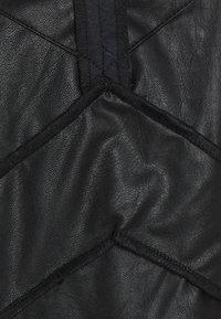 MM6 Maison Margiela - DRESS - Shift dress - black - 9