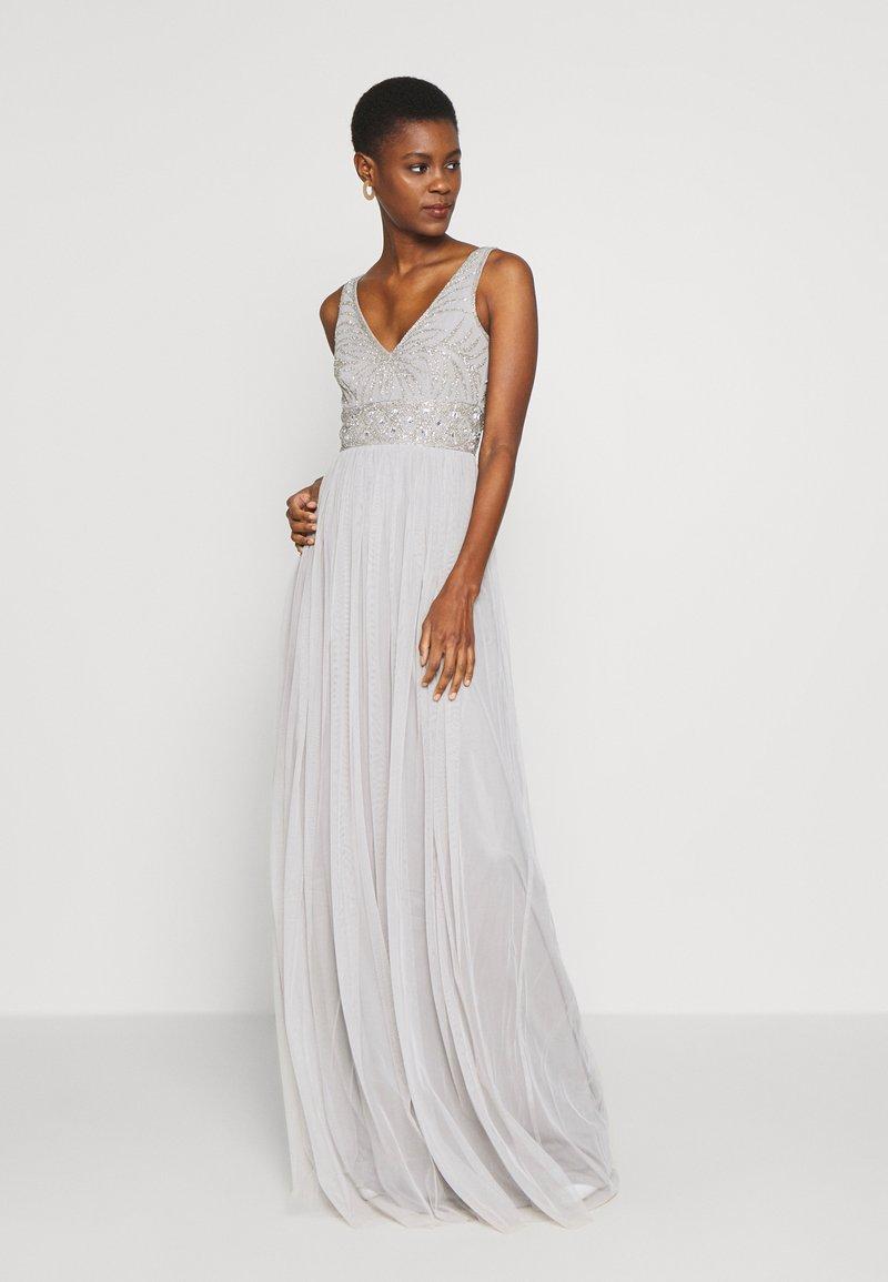 Lace & Beads Tall - MUMULAN MAXI - Galajurk - light grey