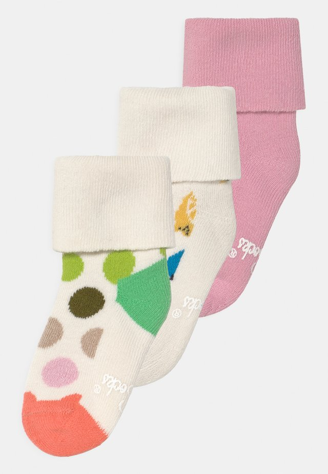 FLAMINGO & FRUITS 3 PACK - Socks - multi-coloured